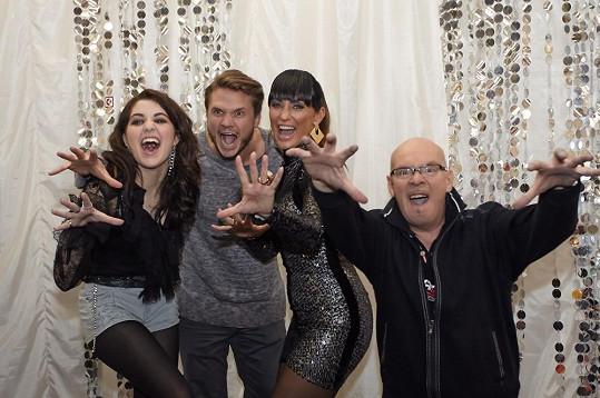 Celeste aktuálně porotcuje v X Factoru.