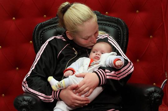 Dcera Zdeny Reginy se synem Kájou