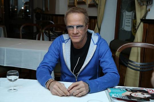 Christopher Lambert strávil v Brně dva dny.