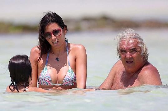 Flavio Briatore se za poslední roky změnil k nepoznání.