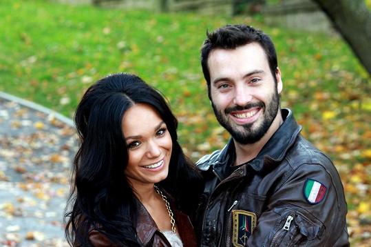 Vašek Noid Bárta a jeho přítelkyně Gábina Dvořáková