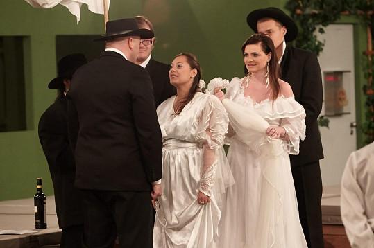 Thomas se ve vile dočkal dvojnásobné svatby.