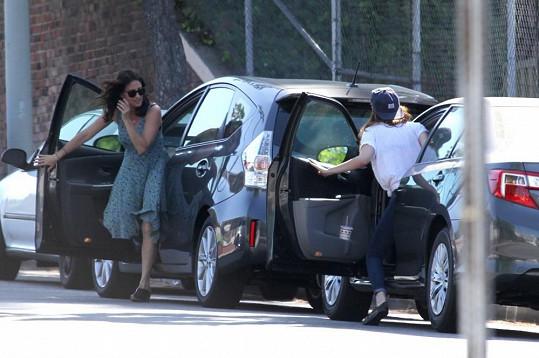 Kristen Stewart v Los Angeles bourala.