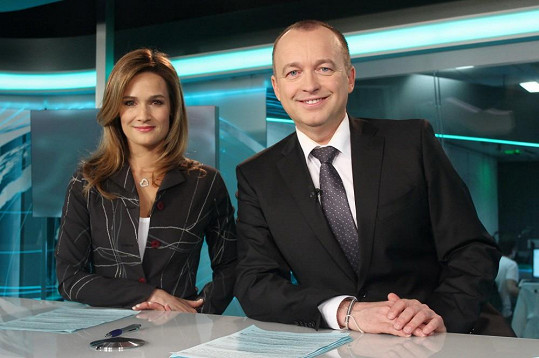S televizním parťákem Karlem Voříškem