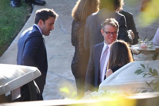 Nerozluční kamarádi Ben Affleck a Matt Damon