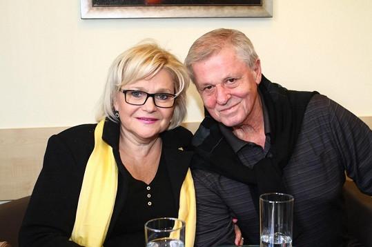 Ladislav a Milada Kerndlovi jsou příjemný a pohodový pár.