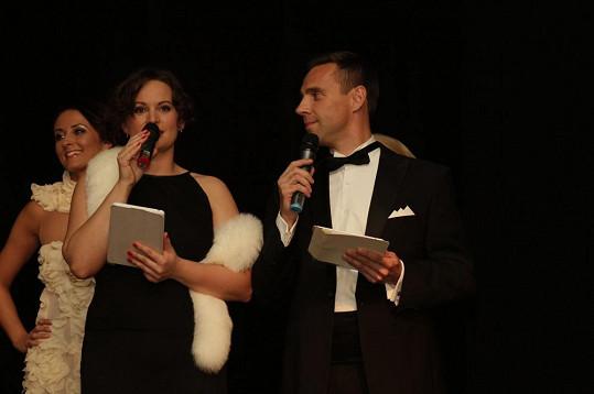 Slavnostní večer moderovali Jitka Čvančarová a Roman Vojtek.