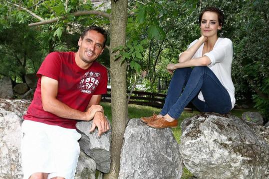 Roman Šebrle a Gábina Kratochvílová zavítali do zoo.