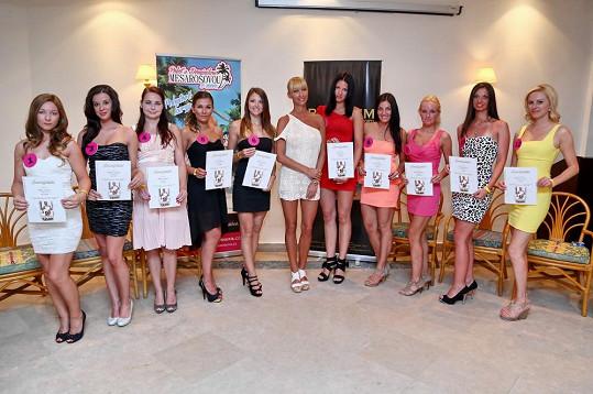 Finalistky 4. ročníku získaly certifikát o absolvování projektu.