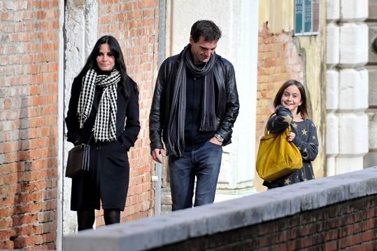 Courteney je nadšená i ze skvělého vztahu Johnnyho s její dcerou Coco.