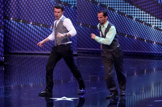 Leoš Mareš si jako tanečník vedl skvěle.