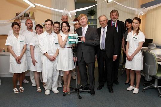 Čtvrtým obřadem byla seriálová svatba Jakuba Vencla (Ladislav Hampl) a Evy Janákové (Kristýna Janáčková).