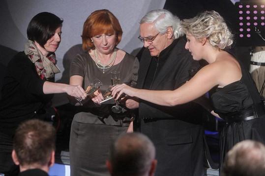 Ještě před koncertem se křtila deska s raritními songy Karla Černocha.