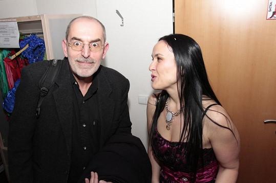 Kmotrem nového klipu se stal Ivo Šmoldas.