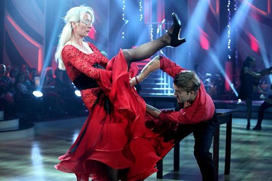 Vášnivé tango Polívkové sedlo.