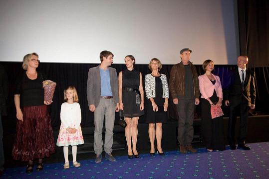 Delegace k filmu Jako nikdy