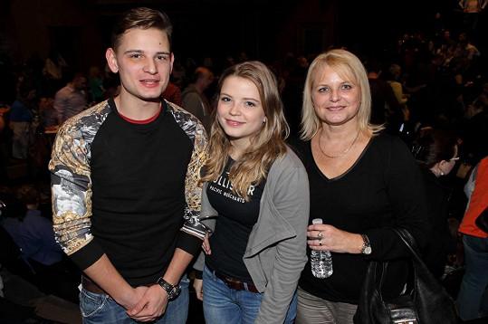 Manželka Renáta, syn Jáchym a dcera Berenika
