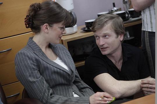 Syna Andrey hraje v posledních dílech o několik let starší Matěj Hádek.