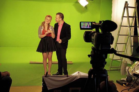 Martin Chodúr a Elis představí duet podpořený animovaným videoklipem.