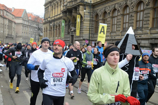 Známý český herec na běh pečlivě trénoval.