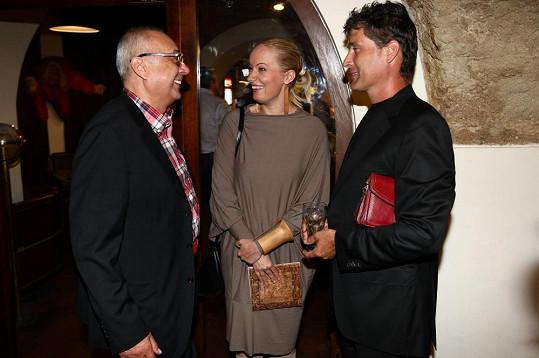 Antalová manžela představila producentovi muzikálu Mamma Mia! Petru Kovarčíkovi.