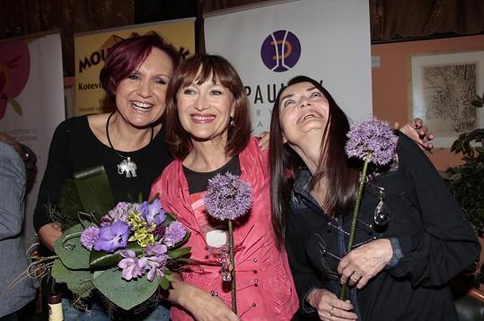 Trojice známých zpěvaček začínala v Semaforu.