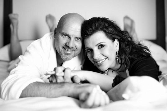 Andrea Kalivodová s manželem Radkem Tögelem