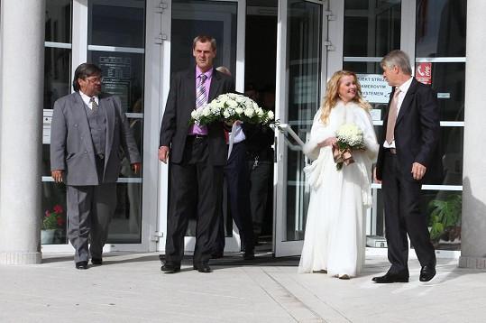 Iveta se vdávala podruhé.