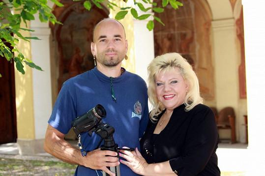 S kameramanem Pavlem Junkem