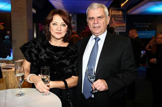 ...a Zlata Adamovská s Petrem Štěpánkem