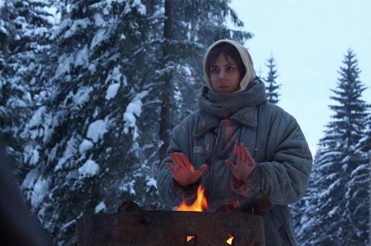 Aneta Langerová v těchto dnech natáčí film 8 hlav šílenství, ve kterém ztvární básnířku, jež skončí v pracovním táboře.