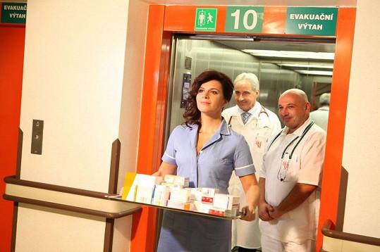 Andrea Kalivodová s lékaři