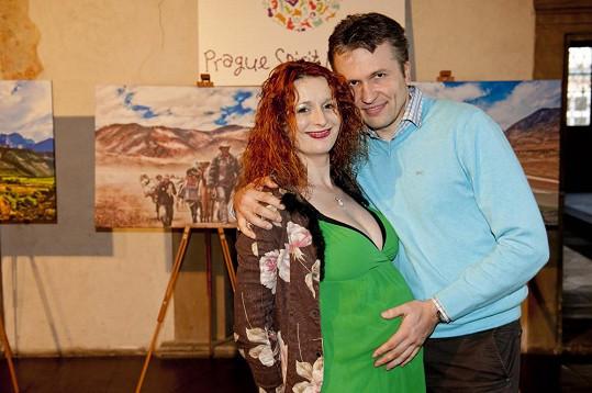 Houslistka Markéta Muzikářová s partnerem čekají chlapečka.