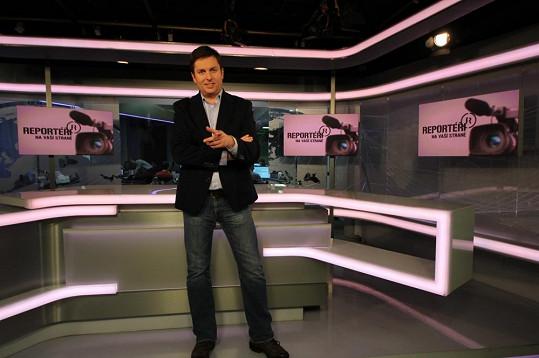 Pořadem bude nyní provázet ostřílený reportér Tomáš Hauptvogel.