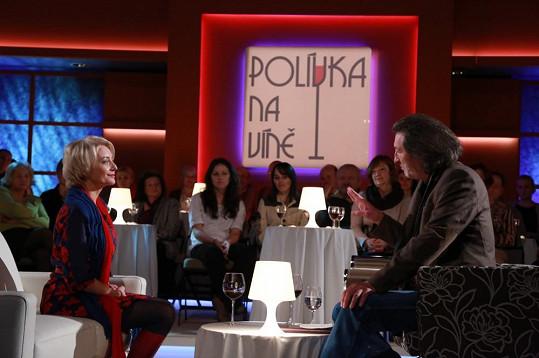 Na víno dorazí i Veronika Žilková.