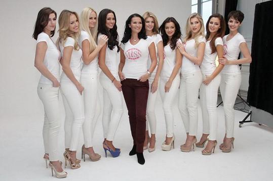 České Miss s Michaelou Maláčovou