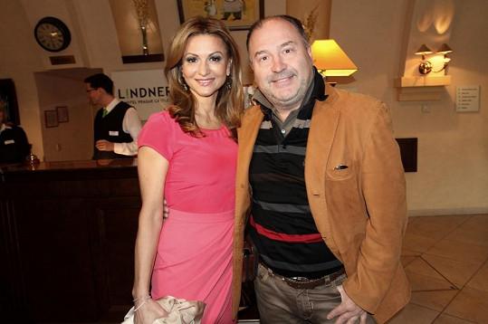 Blanarovičovou na tiskovce k charitativní organizaci La Sophia podpořil i Michal David.