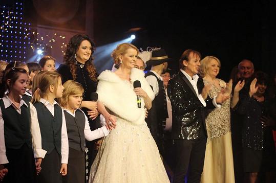 Koncert poběží na slovenské hudební televizi.