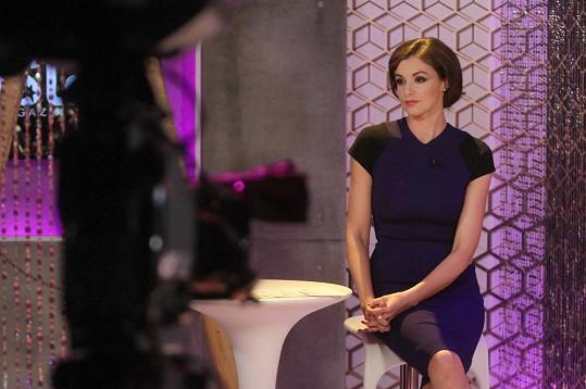 Iva Kubelková v Top Star magazínu
