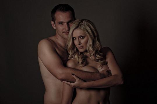 Zorka Hejdová na odvážné fotce s manželem Mírou Hejdou