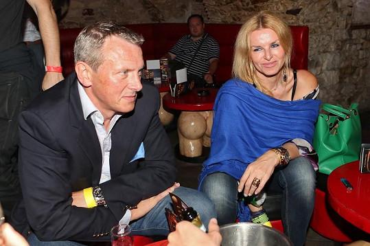 Na Mahulenin doprovod se přišli podívat i její přátelé Vratislav Janda a Zuzana Straková.