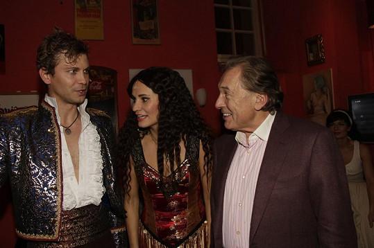 Karel se zapovídal i s představitelem hlavní role Markem Holým.