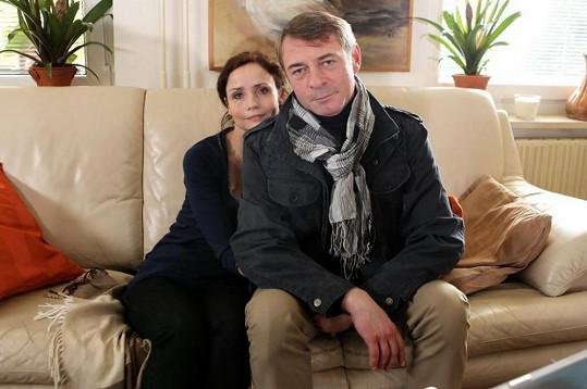 Jiří Dvořák si zahraje v seriálu Svatby v Benátkách.