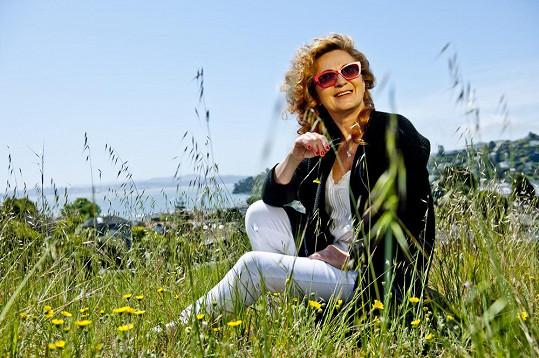 Simona Stašová a její typický úsměv