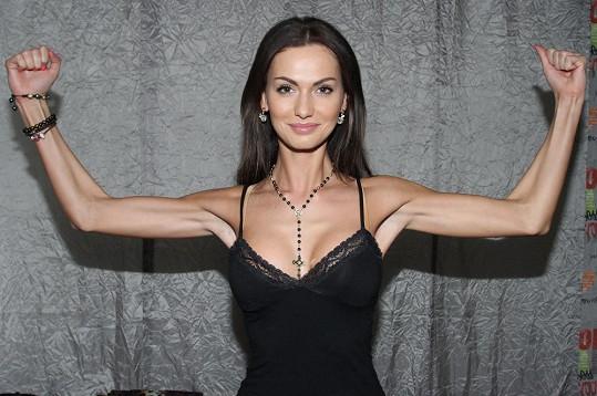 Eliška Bučková se pochlubila svou vypracovanou postavou.