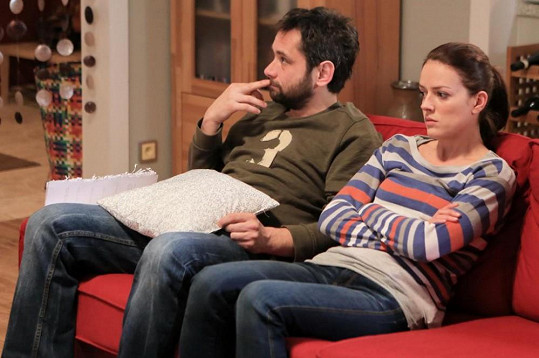 Andrea Kerestešová s Filipem Čapkou