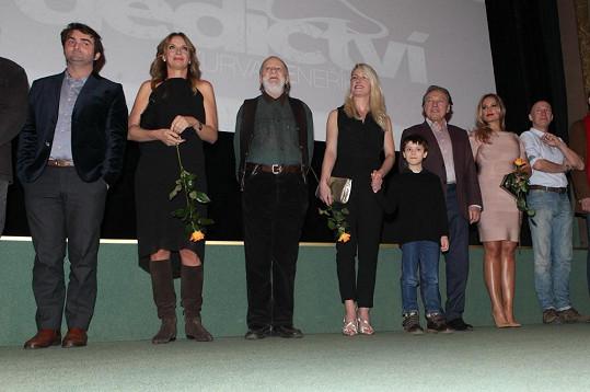 Herci před zahájením filmu