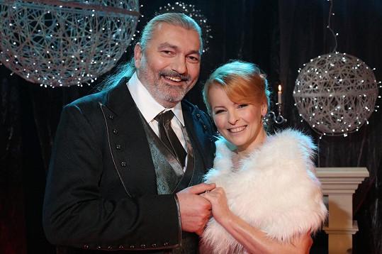 Iveta Bartošová s Danielem Hůlkou