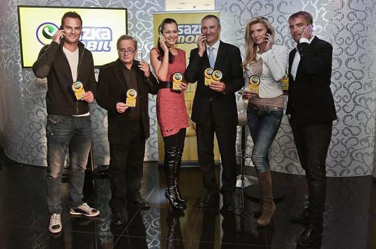 Na tiskovce loterijní společnosti se objevili Libor Bouček, Jana Doleželová, Petra Minářová či Patrik Berger.