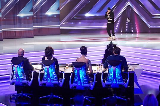 Christián Dergounov v X Factoru